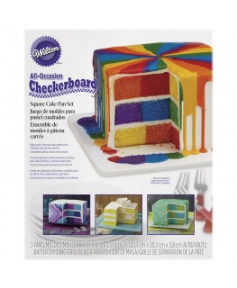 Wilton Checkerboard Square Cake Pan