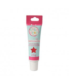 Cake Star Writing Icing - Red 25g