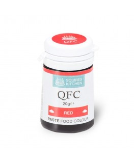 Squires Kitchen Quality Food Colour (QFC) Paste Red 20g