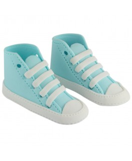 PME Handcrafted Sugar Decorations High Cut Sneaker Blue