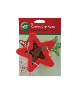 Wilton Holiday Star Comfort Grip Cutter 4""