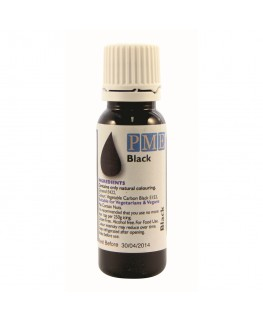 PME Black 'Natural' Food Colouring 25g