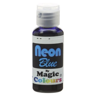 Magic Colours Neon Blue Food Colouring 32g