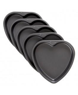 "Wilton Wilton Easy Layers! 6"" Heart Cake Pan Set 5pc"