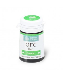 Squires Kitchen Quality Food Colour (QFC) Paste Green 20g