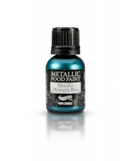 Rainbow Dust Metallic Food Paint Midnight Blue 25ml