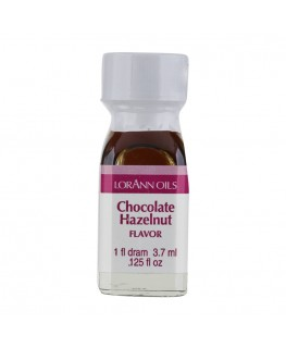 LorAnn Super Strength Chocolate Hazelnut Flavor - 1 Dram (3.7ml)