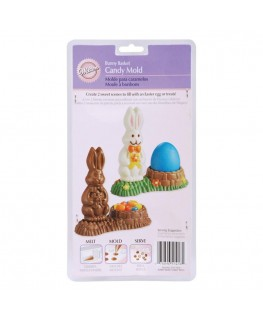 Wilton 3D Bunny Basket Candy Mould