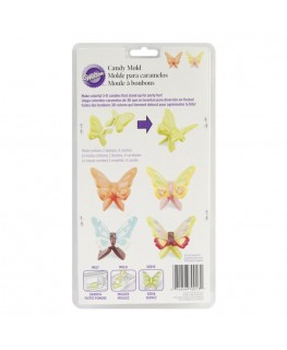 Wilton 3D Butterfly Wings Candy Mould