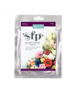 Squires Kitchen Sugar Florist Paste (SFP) Bordeaux Burgundy 100g