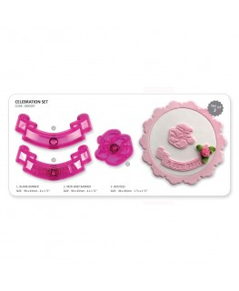 JEM Celebration Cutter Set 3pc