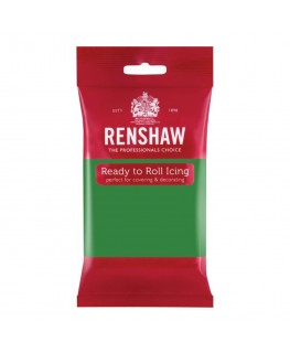Renshaw Lincoln Green Ready To Roll Fondant Icing 250g