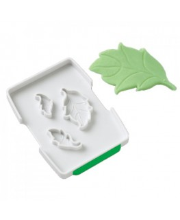 Wilton Rose Leaf Fondant Cut & Press Set