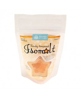 Squires Kitchen Tempered Isomalt Gold Sparkle 125g