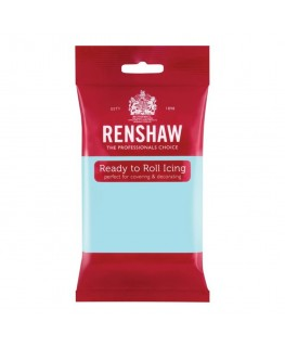 Renshaw Duck Egg Blue Ready To Roll Fondant Icing 250g