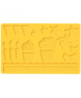Wilton Kids Party Fondant and Gum Paste Mold