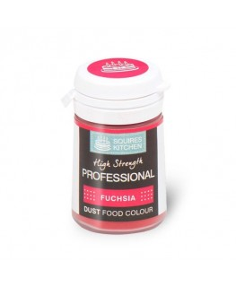Squires Kitchen Professional Food Colour Dust Fuchsia 4g