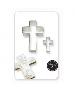PME Cookie & Cake Cross Cutter 2pc