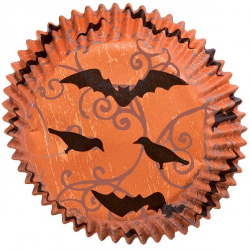 Wilton Haunted Manor Halloween Standard Cupcake Cases 75pk