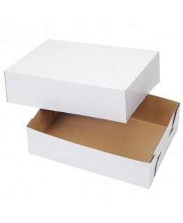 "Wilton Corrugated Cake Box 10"" x 14"" x 4"" 2pk"