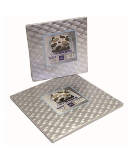 "PME 10"" Square Cake Drum (12mm thick)"
