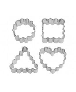 Wilton Crinkle Shape Cut-Outs 4pc