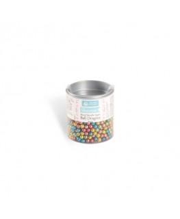 Squires Kitchen Mixed Metallic Ball Dragees 4mm 38g