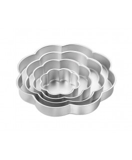 Wilton Performance Pan Set Petal 4pc