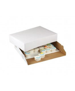 "Wilton Corrugated Cake Box 19"" x 14"" x 4"" 2pk"