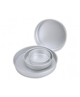 "Wilton Performance Pan Set Round 2"" Deep 4pc"