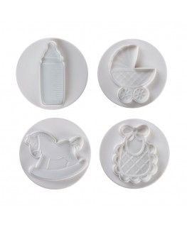 Pavoni Baby Plunger Cutter Set (Large) 4pc