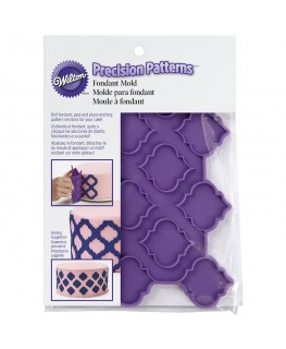Wilton Silicone Precision Patterns Trellis Fondant Mould