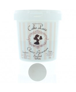 Claire Bowman Pearlised White Pre-Mixed Cake Lace 500g