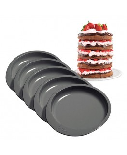 "Wilton Wilton Easy Layers! 6"" Cake Pan Set 5pc"