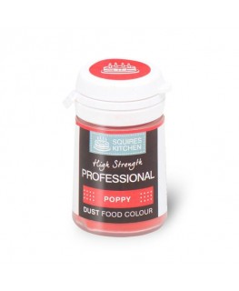 Squires Kitchen Professional Food Colour Dust Poppy 4g