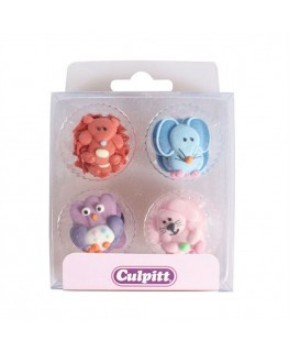 Culpitt Baby Animals Sugar Pipings 12pk