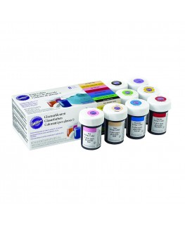 Wilton Icing Colour Gel Paste Set of 8 Colours