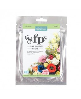 Squires Kitchen Sugar Florist Paste (SFP) Pale Green 200g
