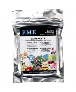 PME Black Gum Paste 200g