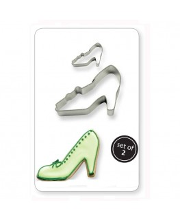 PME Cookie & Cake High Heel Cutter 2pc