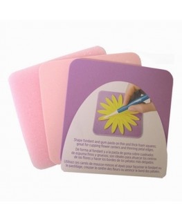 Wilton Fondant Shaping Foam Set 3pc