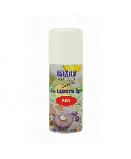 PME Red Edible Lustre Spray 100ml