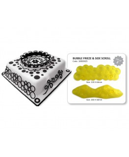 JEM Bubble Frieze & Side Scroll Cutter Set 2pc