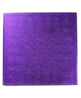 "Culpitt 10"" Square Purple Cake Board"