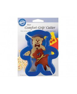 Wilton Teddy Bear Comfort Grip Cutter 4""