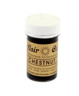 Sugarflair Chestnut Spectral Paste Colour 25g