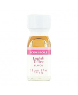 LorAnn Super Strength English Toffee Flavor - 1 Dram (3.7ml)