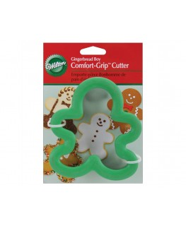 Wilton Gingerbread Boy Comfort Grip Cutter 4""