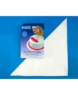 PME Parchment Triangles 50pk